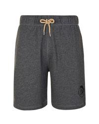 DIESEL - Gray Mohawk Shorts for Men - Lyst
