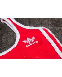 Adidas Originals Adidas 3 Stripes Body Radiant Red