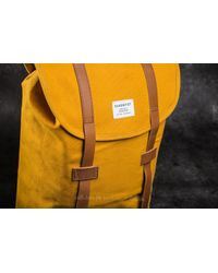Footshop Sandqvist Stig Backpack Yellow for men