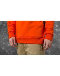 Footshop Point Of View Hoodie Orange/ Black for men