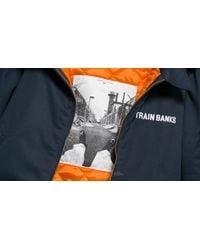 Footshop Blue Polar Train Banks Jacket Navy for men