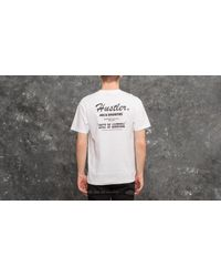 Footshop 40s & Shorties X Hustler Larry Flynt Photo Tee White for men