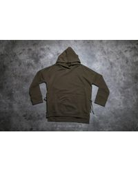Stampd - Green Draped Hoodie Olive for Men - Lyst