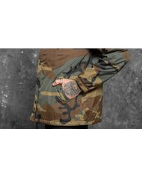Footshop - Multicolor Undefeated 5 Strike Coaches Jacket Camo for Men - Lyst