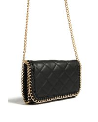 Forever 21 - Black Quilted Crossbody Bag - Lyst
