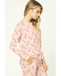 Forever 21 | Pink T-rex Pj Sweater | Lyst