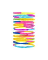 Forever 21 | Multicolor Tie-dye Twisted Bracelet Set | Lyst