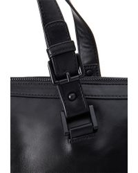 Forever 21 - Black Unstructured Faux Leather Satchel - Lyst