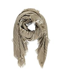 Forever 21 - Brown Striped Scarf - Lyst
