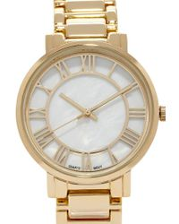 Forever 21 - Metallic Classic Analog Watch - Lyst