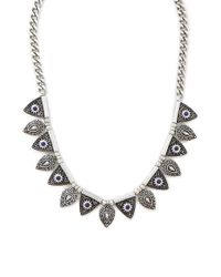 Forever 21 | Metallic Charm Collar Necklace | Lyst