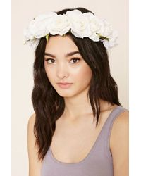 Forever 21 | Multicolor Rose Flower Crown | Lyst