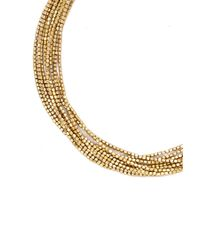 Forever 21 - Metallic Layered Beads Necklace - Lyst