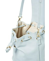 Forever 21 - Blue Faux Leather Bucket Bag - Lyst