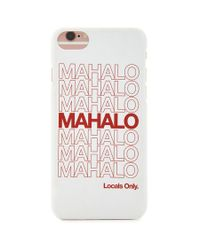 Forever 21 Multicolor Mahalo Iphone Case 6/6s
