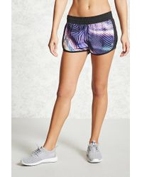 Forever 21 - Multicolor Active Abstract Dolphin Shorts - Lyst