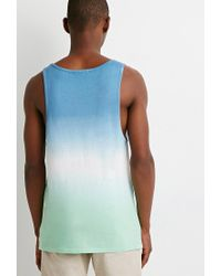 Forever 21 | Blue Ombré Tank for Men | Lyst