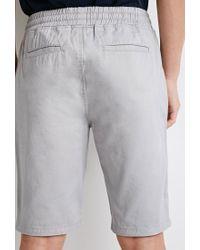 Forever 21 | Gray Zip-pocket Drawstring Shorts for Men | Lyst