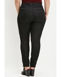 Forever 21 - Black Classic Skinny Jeans - Lyst