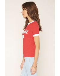 Forever 21 - Red Campbells Soup Ringer Tee - Lyst