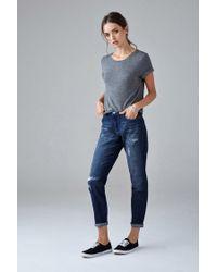Forever 21 | Blue Girlfriend Jeans | Lyst