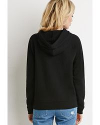 Forever 21 - Black Classic Fleece Hoodie - Lyst