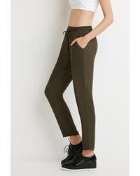 Forever 21 | Green Classic Drawstring Pants | Lyst