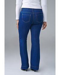 Forever 21 - Blue Classic Flared Jeans - Lyst