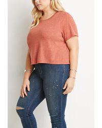 Forever 21 | Pink Classic Boxy Tee | Lyst