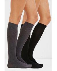 Forever 21 - Black Over-the-knee Sock Set - Lyst