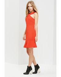 Forever 21 - Red Ministry Of Style Ardent Trumpet Dress - Lyst