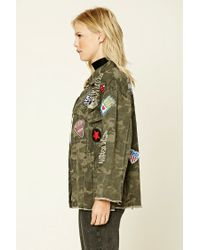 Forever 21 | Brown Contemporary Faux Fur Longline Vest | Lyst
