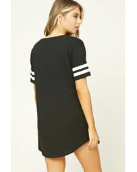 Forever 21 - Black Constantly Sleepy Nightdress - Lyst