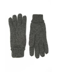 Forever 21 | Gray Men Marled Cable Knit Gloves for Men | Lyst