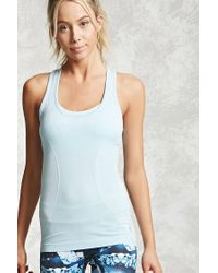 Forever 21 | Blue Active Seamless Tank | Lyst