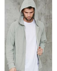 Forever 21 | Gray French Terry Hoodie for Men | Lyst