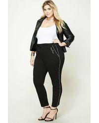 Forever 21 | Black Plus Size Drawstring Sweatpants | Lyst