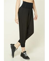 Forever 21 | Black Active Harem Pants | Lyst