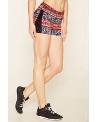 Forever 21 | Multicolor Active Abstract Print Shorts | Lyst