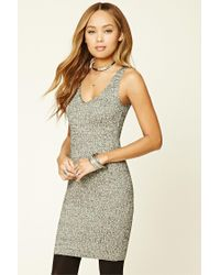 Forever 21 | Metallic Marled Knit Dress | Lyst