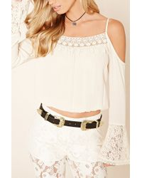Forever 21 - Black Btb Two-buckle Belt - Lyst