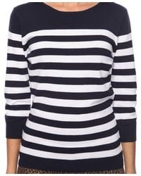 Forever 21 - Blue Contemporary Essential Striped Sweater - Lyst