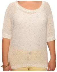 Forever 21 - Multicolor Plus Size Sequined Metallic Sweater - Lyst