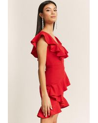 Forever 21 Tiered Ruffle Dress