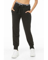 Forever 21 - Black Pretty In Punk Graphic Sweatpants - Lyst