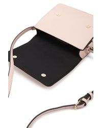 Forever 21 | Pink Faux Leather Crossbody Bag | Lyst