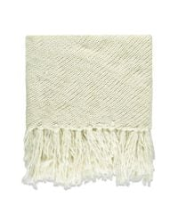 Forever 21 - Natural Fringe Marled Triangle Scarf - Lyst