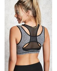Forever 21 - Black Low Impact - Sports Bra - Lyst