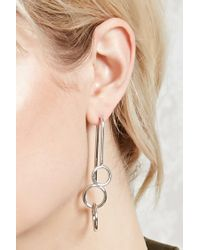 Forever 21 - Metallic O-ring Ear Jackets - Lyst