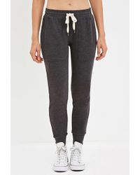 Forever 21 - Gray Drawstring Sweatpants - Lyst